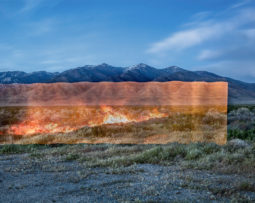 Stefan Petranek, _Fire Line (Lovelock, NV),_ 2019. Archival inkjet print, 20 x 29 inches