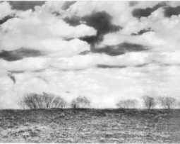PJ Sturdevant, _Over The Hill,_ 2018. Bromoil print, 23½ x 27½ inches